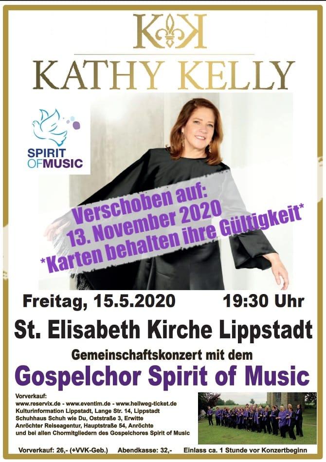 Kathy Kelly und Spirit of Music Anröchte